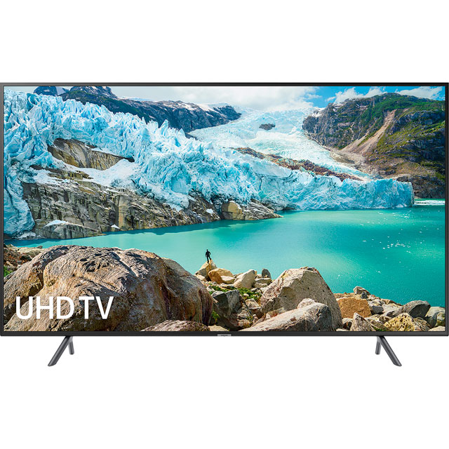 "Samsung UE43RU7100 43"" Smart 4K Ultra HD TV with HDR10+, Apple TV and Slim Design - UE43RU7100 - 1"