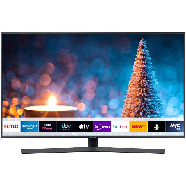 "Samsung UE43RU7400 43"" Smart 4K Ultra HD TV with HDR10+, Dynamic Crystal Colour, Apple TV, Slim Design and One Remote Control - UE43RU7400 - 1"