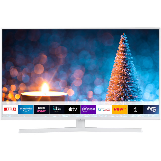 "Samsung UE43RU7410 43"" Smart 4K Ultra HD TV with HDR10+, Dynamic Crystal Colour, Apple TV, Slim Design and One Remote Control - UE43RU7410 - 1"