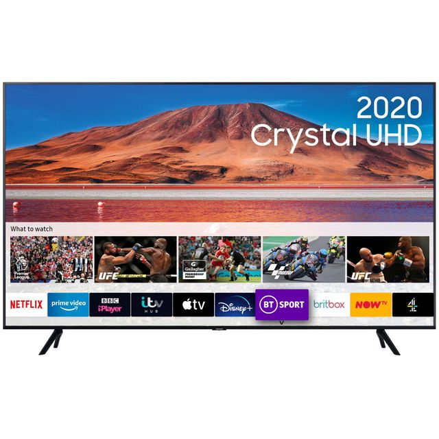 "Samsung UE43TU7000 43"" Smart 4K Ultra HD TV - Black - UE43TU7000 - 1"