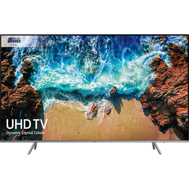 "Samsung UE82NU8000 82"" Smart 4K Ultra HD TV with HDR - Black / Silver - [A Rated] - UE82NU8000 - 1"