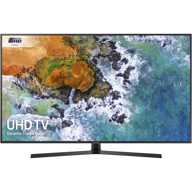"Samsung UE55NU7400 55"" Smart 4K Ultra HD TV with HDR - Black - [A Rated] - UE55NU7400 - 1"