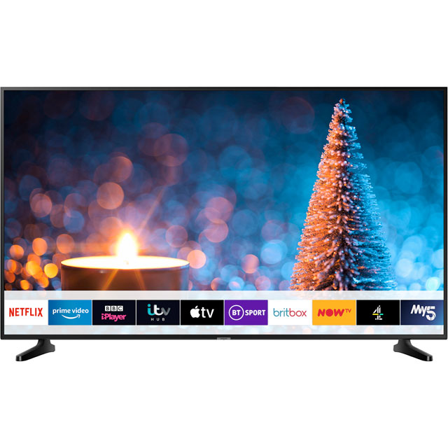 "Samsung UE55RU7020 55"" Smart 4K Ultra HD TV - Charcoal Black - UE55RU7020 - 1"