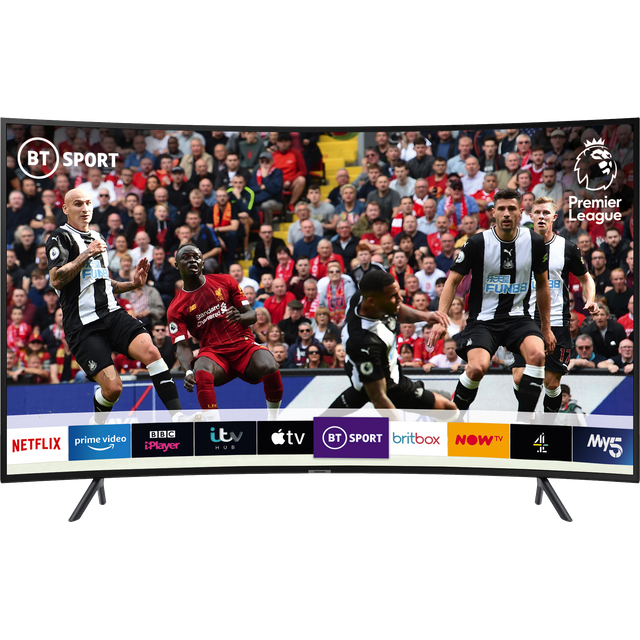 "Samsung UE55RU7300 55"" Smart 4K Ultra HD TV - Black - UE55RU7300 - 1"