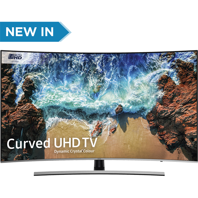 "Samsung UE65NU8500 65"" Curved Smart 4K Ultra HD Certified TV with HDR - Black / Silver - [A Rated]"