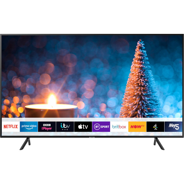 "Samsung UE75RU7020 75"" Smart 4K Ultra HD TV - Charcoal Black - UE75RU7020 - 1"