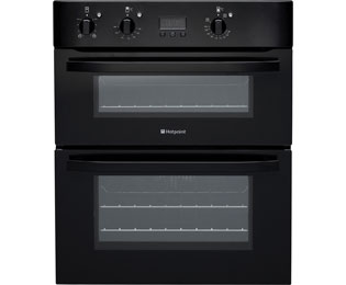 Product image for Hotpoint UH53KS Electric Double Oven Black