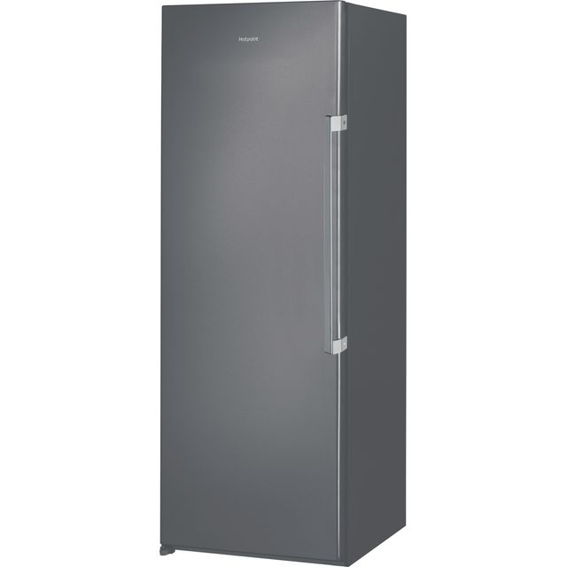 Hotpoint UH6F1CG1 Upright Freezer - Graphite - UH6F1CG1_GH - 1