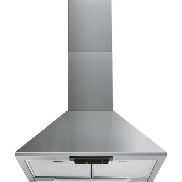 Indesit UHPM6.3FCSX/1 60 cm Chimney Cooker Hood - Stainless Steel - UHPM6.3FCSX/1_SS - 1