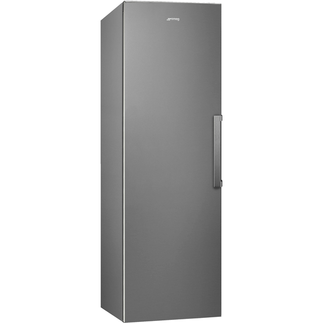 Smeg UK282PXNF Frost Free Upright Freezer - Stainless Steel - A++ Rated - UK282PXNF_SS - 1