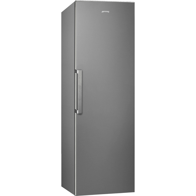 Smeg UK402PX Fridge - Stainless Steel - A++ Rated