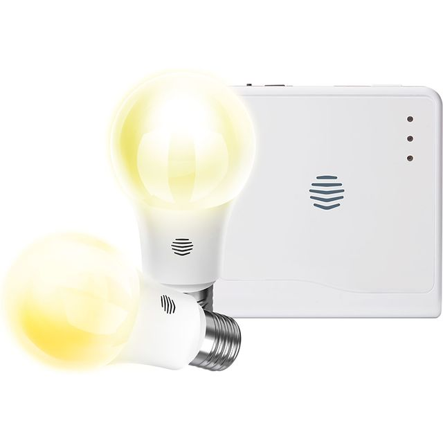 Hive Smart Light Warm White Twin Pack E27 And Hub - A+ Rated