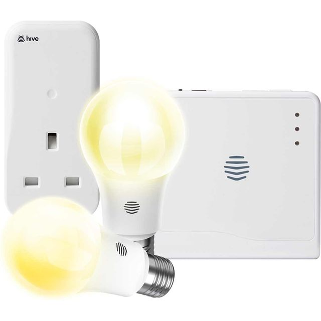 Hive Smart Light & Plug Bundle - Screw - A+ Rated