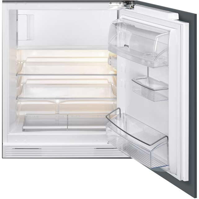Smeg UKUD7122CSP Built Under Refrigerator in White