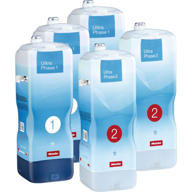 Image of Miele W1 TwinDos UltraPhase 1 & 2 Bundle Washing Machine Detergent