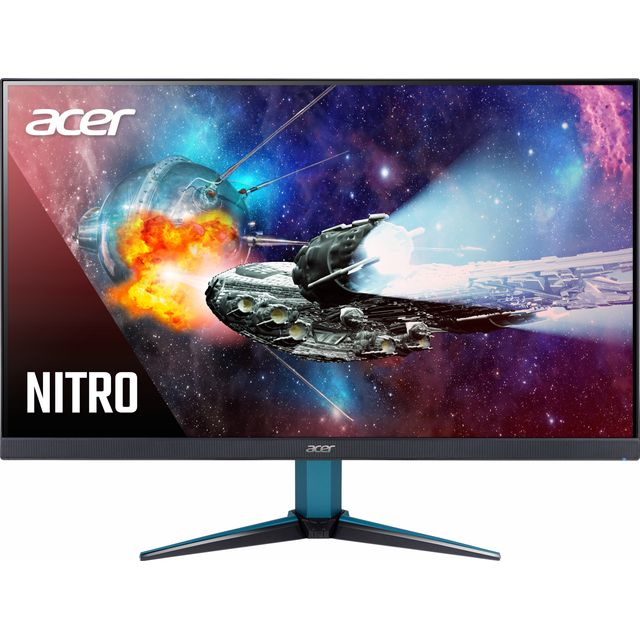 "Acer WQHD 27"" 144Hz Gaming Monitor with AMD FreeSync - Black / Blue - UM.HV1EE.P01 - 1"