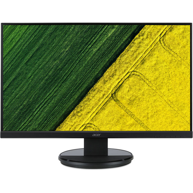 "Acer K272HLEbid Full HD 27"" 60Hz Monitor - Black Gloss"