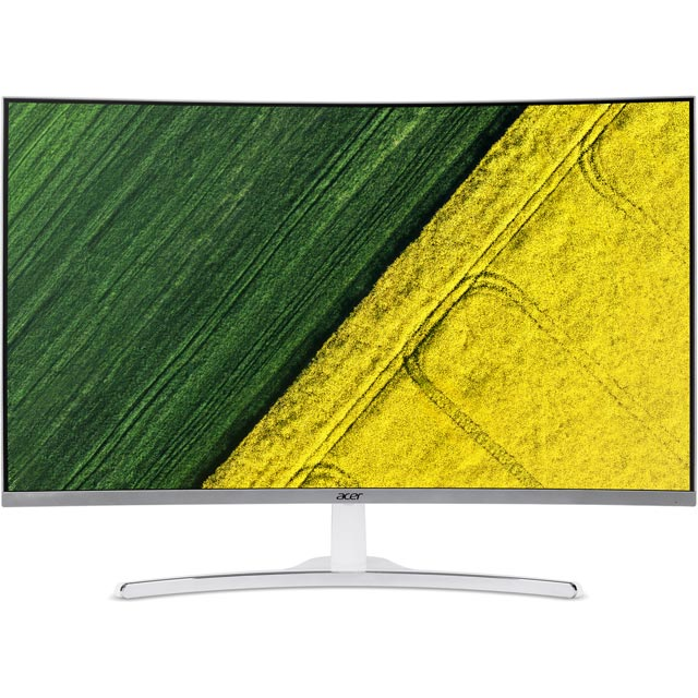 "Acer ED322Qwmidx Full HD 31.5"" 60Hz Curved Gaming Monitor with NVidia G-Sync - White"