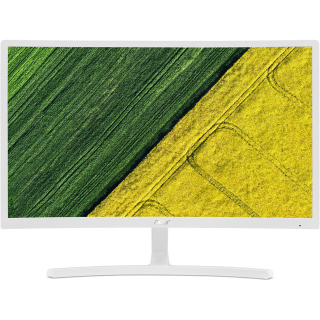 "Acer ED242QR Full HD 23.6"" 75Hz Curved Monitor with AMD FreeSync - White"
