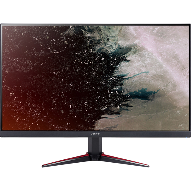 "Acer Nitro VG220Qbmiix Full HD 21.5"" 75Hz Gaming Monitor - Black - UM.WV0EE.006 - 1"