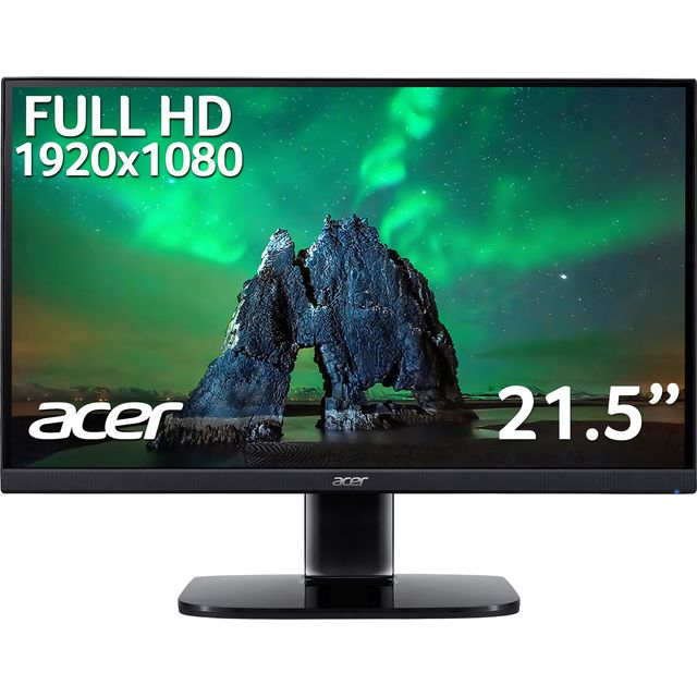 "Acer KA2 Full HD 21.5"" 75Hz Monitor with AMD FreeSync - Black"