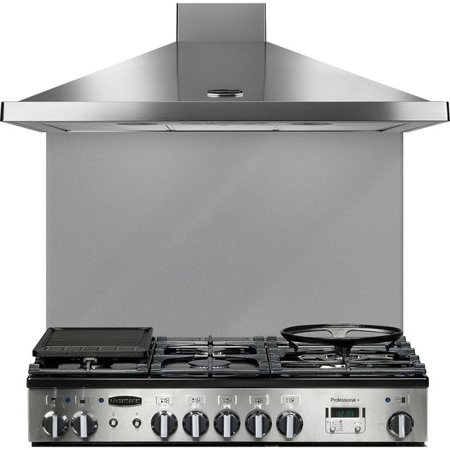 Rangemaster UNBSP899GY Built In Splashbacks - Grey - UNBSP899GY_GY - 1