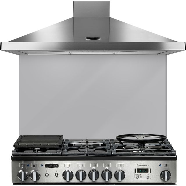 Rangemaster UNBSP899MS Built In Splashbacks - Metallic Silver - UNBSP899MS_MSI - 1