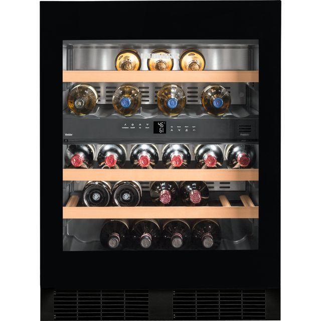 Liebherr UWTgb1682 Built In Wine Cooler - Black / Glass - G Rated