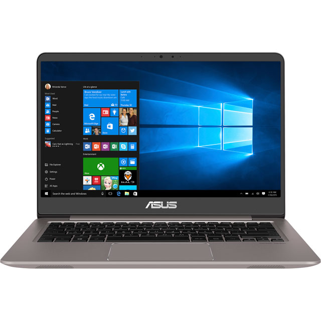 "Asus 14"" Laptop Intel® Core™ i3 4GB RAM - Quartz Grey"