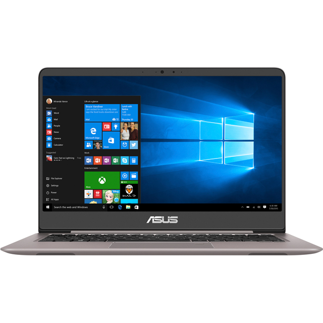 "Asus 14"" Laptop Intel® Core™ i3 256GB Solid State Drive 4GB RAM"