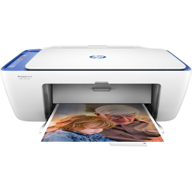 HP DeskJet 2630 V1N03B#BEV Printer in Noble Blue