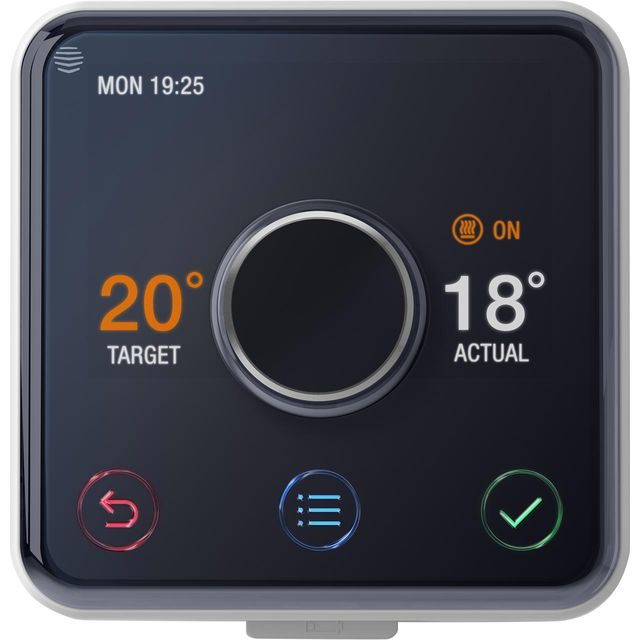 Hive Active Heating & Hot Water Smart Thermostat Kit V2HAHKITHEAT&HW-01 Smart Thermostat in Silver