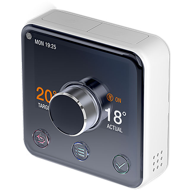 Image of Hive Active Heating Smart Thermostat For Boilers With Separate Hot Water Tank - Includes AO Installation - Black