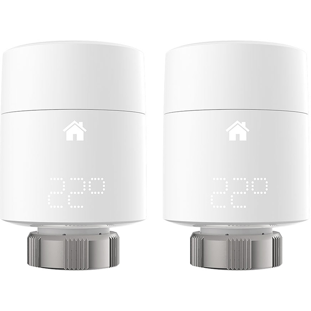tado Smart Radiator Thermostat Vertical Duo Pack