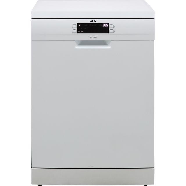 AEG FFE63700PW Standard Dishwasher - White - D Rated