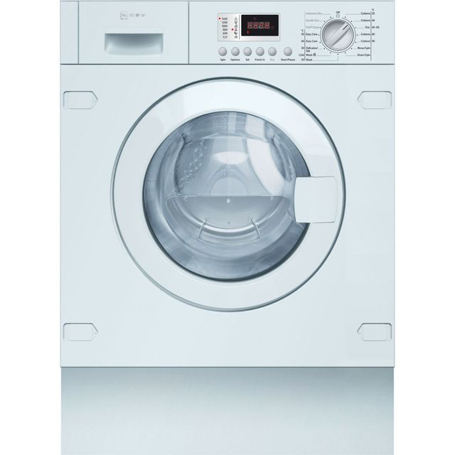 NEFF V6320X2GB Integrated 7Kg / 4Kg Washer Dryer with 1355 rpm - V6320X2GB_WH - 1