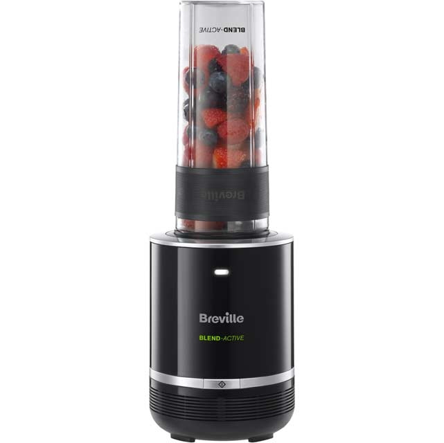 Breville Blend-Active Pro VBL120 Smoothie Maker with 1 Drink Containers - Black - VBL120_BK - 1