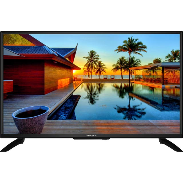 "Veltech VE40FO01UK 40"" TV - Black - VE40FO01UK - 1"