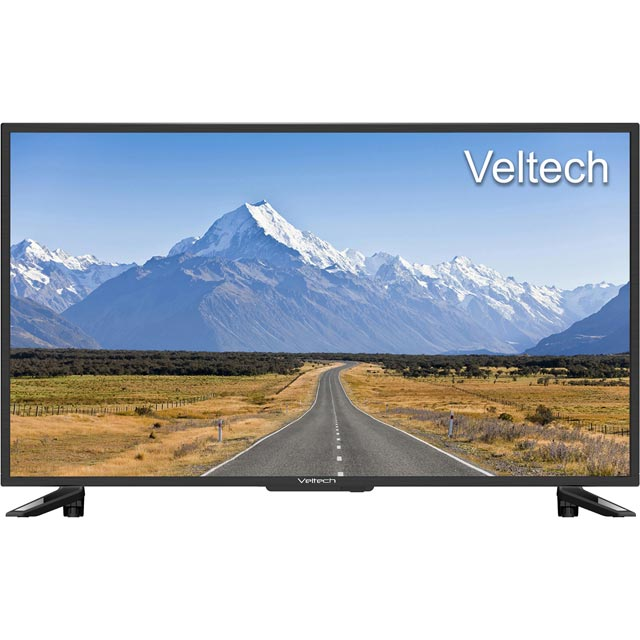 "Veltech 32"" TV - Black - [A Rated]"