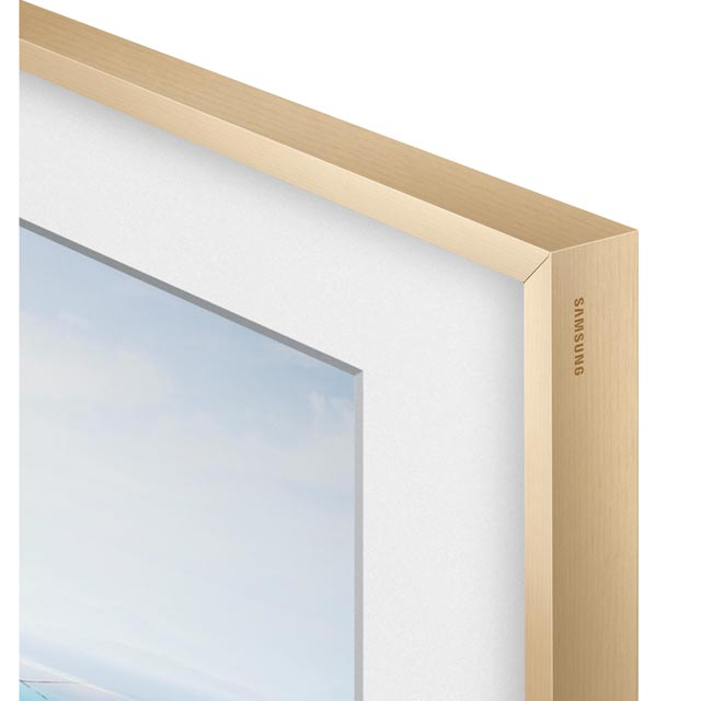 "Samsung The Frame Bezel For 55"" TV - Beige - VG-SCFM55LW/XC - 1"
