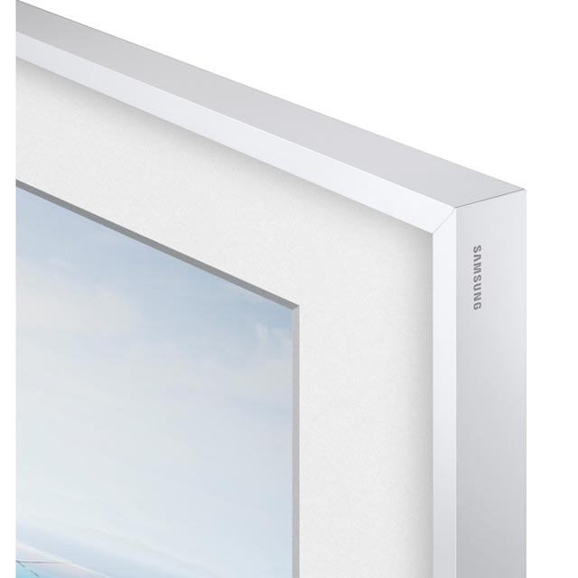 "Samsung The Frame Bezel For 55"" TV - White - VG-SCFM55WM/XC - 1"