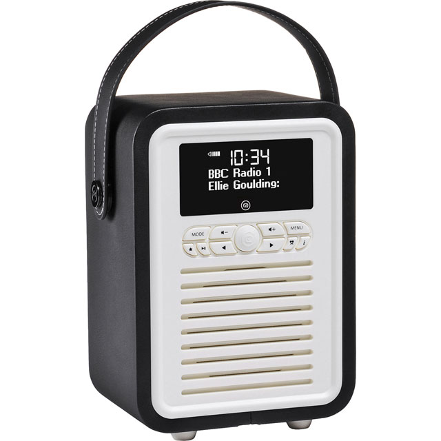 ViewQuest VQ-MINI-BK Digital Radio in Black