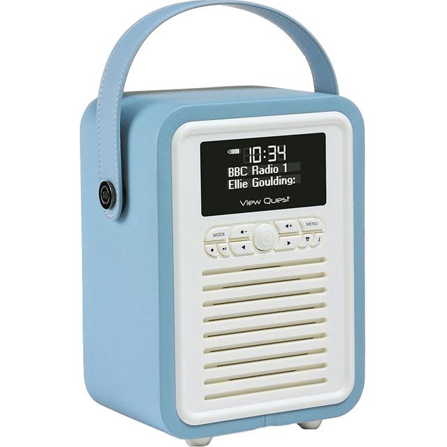 ViewQuest VQ-MINI-BL Digital Radio in Blue