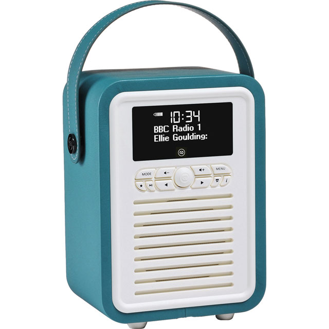 ViewQuest VQ-MINI-TL Digital Radio in Teal