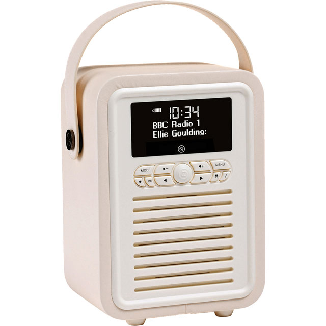 ViewQuest VQ-MINI-WH Digital Radio in Cream