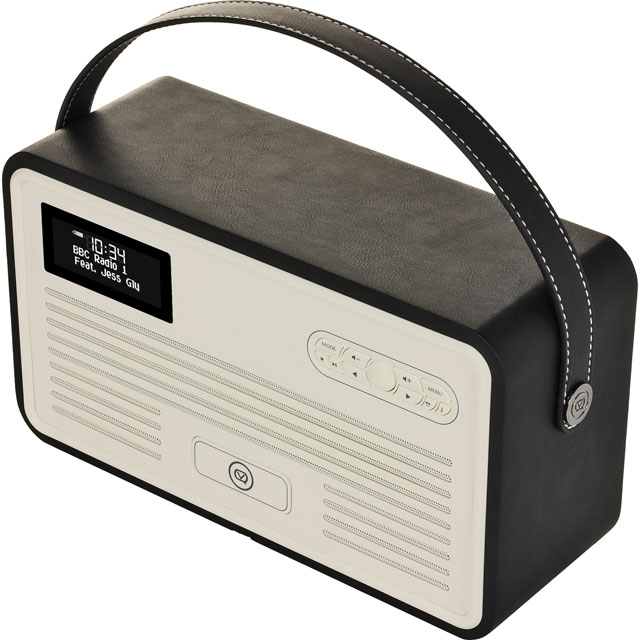 ViewQuest VQ-RETROMKII-BK DAB / DAB+ Digital Radio with FM Tuner