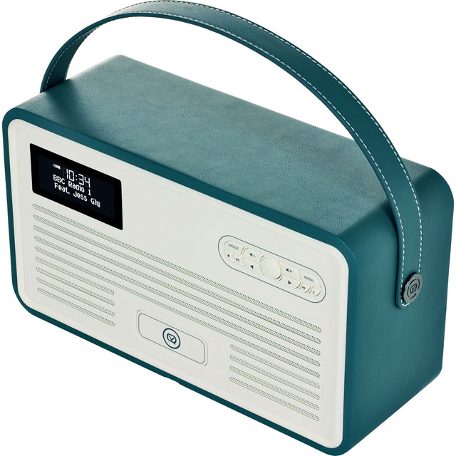 ViewQuest VQ-RETROMKII-TL DAB / DAB+ Digital Radio with FM Tuner - Teal