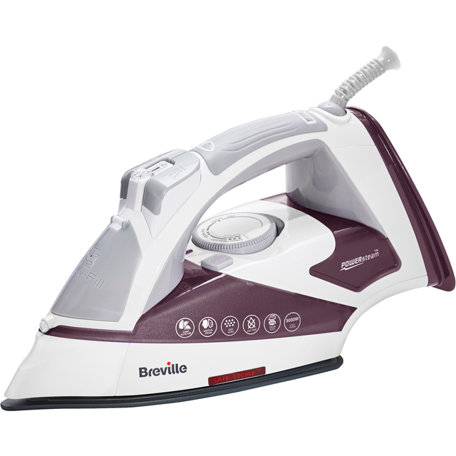 Breville PowerSteam Advanced 3000W VIN405 3000 Watt Iron -Plum - VIN405_PL - 1