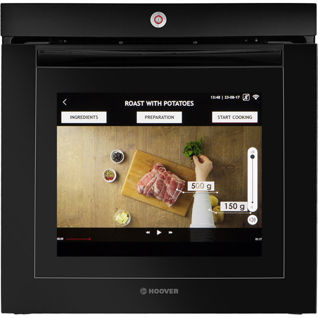 Hoover H-OVEN 700 EXTRA VISION Built In Electric Single Oven - Black Glass - VISION_BKG - 5