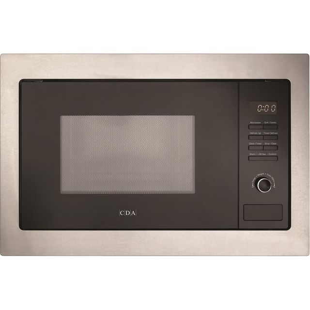 CDA VM231SS Built In Microwave With Grill - Stainless Steel - VM231SS_SS - 1